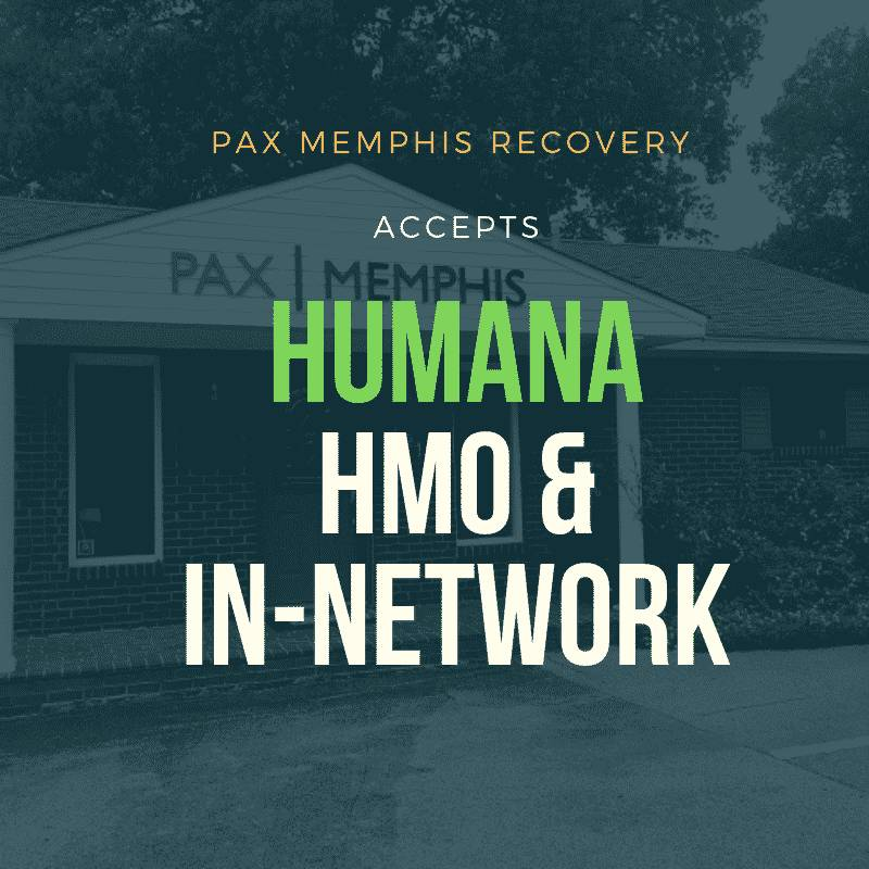Humana HMO & In-Network | PAX Memphis TN Substance Abuse Treatment Coverage