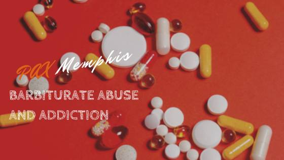 barbiturate pills representing drug abuse and addiction