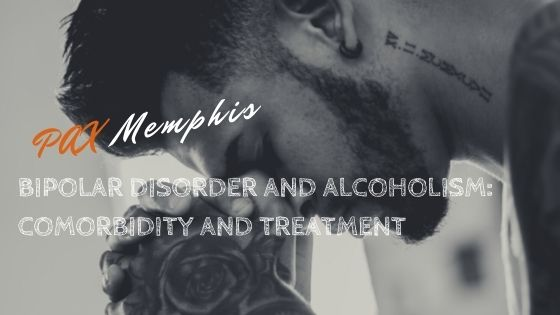 man struggling with bipolar disorder and alcoholism
