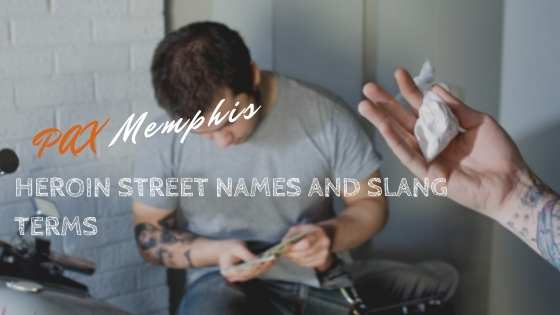 person buying heroin using street names