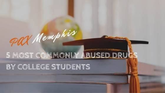 most commonly abuse drugs by college students